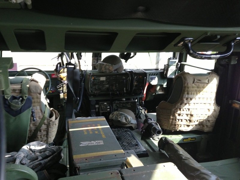 Humvee hummerhuren for Interieur hummer